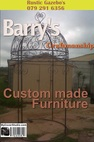 Barrys craftmenship Through Steel