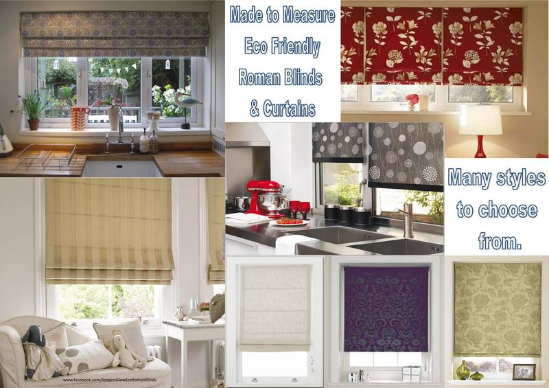 ECO Roman Blinds