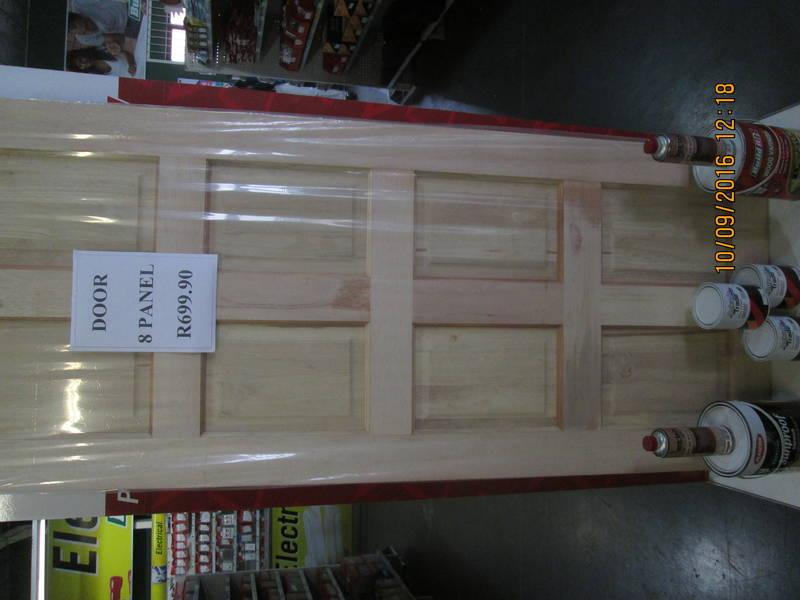 8 panel door       R699.00