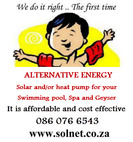 SOLNET - Your ONE STOP water heating SHOP