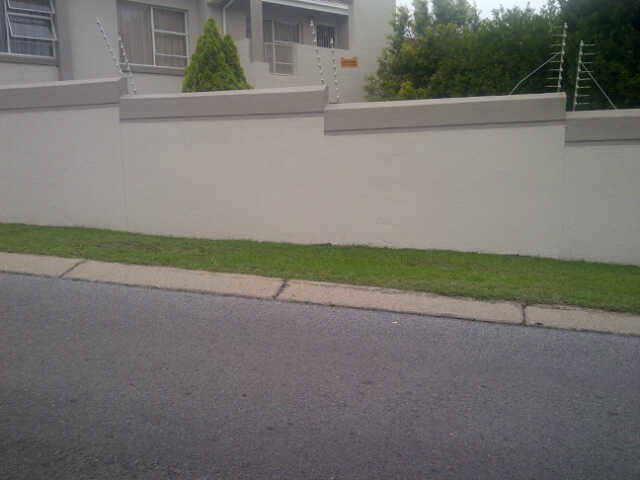 Repairs and Painting - Boundary Wall