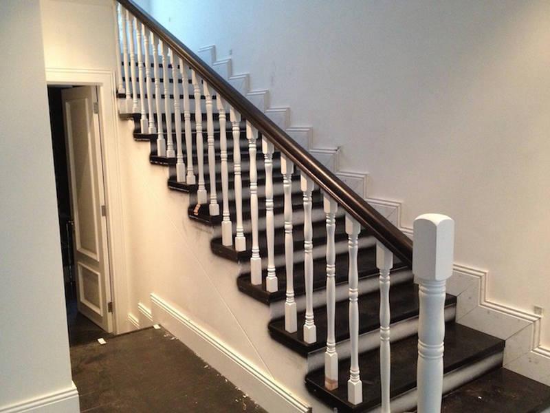 turned balustrade