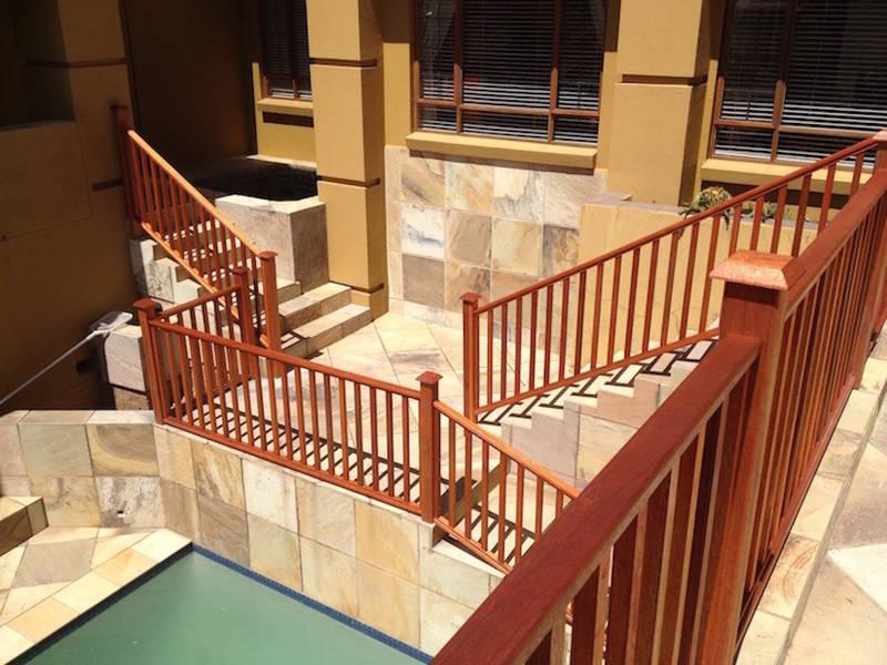 out door balustrade