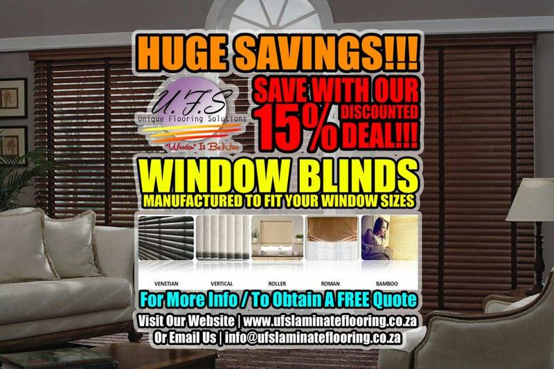 Massive Savings and Discounts on Window Blinds
