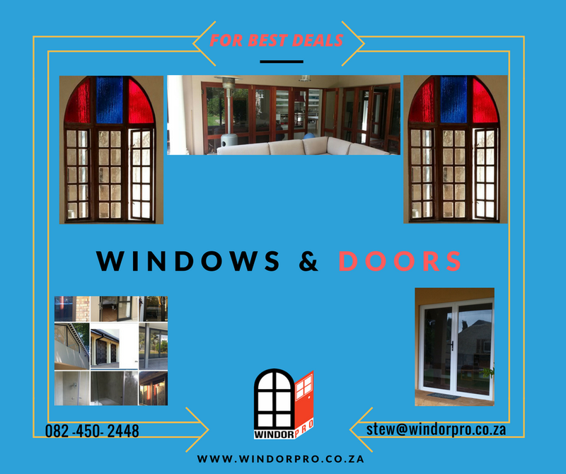 For the best deals in Windows and doors contact Windorpro