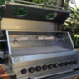 Custom build gas braai