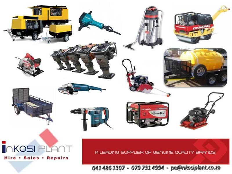 Inkosi Plant Hire Poster