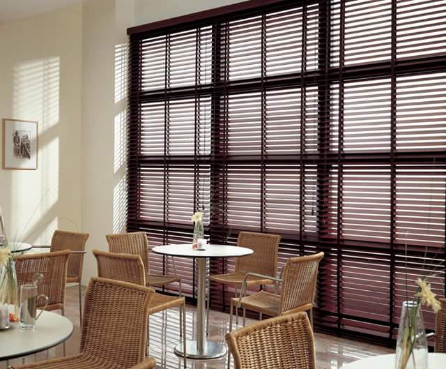 Wooden Venetian Blinds!!! Stunning!