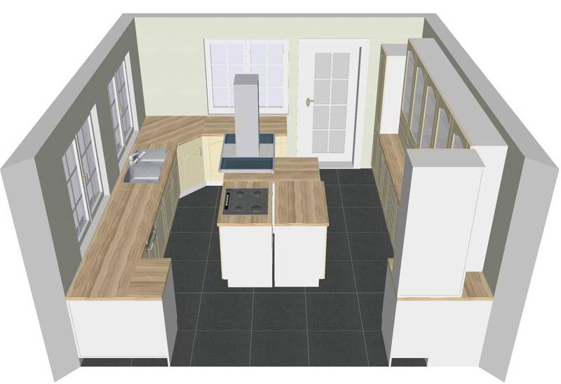 Free 3D Kitchen Drawings with all our quotations
