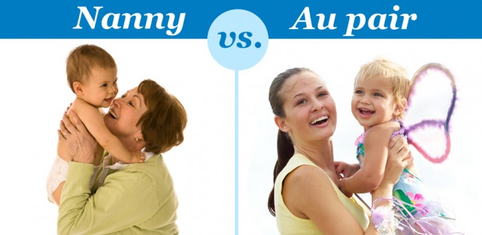 Nanny or Au pair - full or part time?