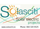 Solasciti Solar Electric installations for residences and business