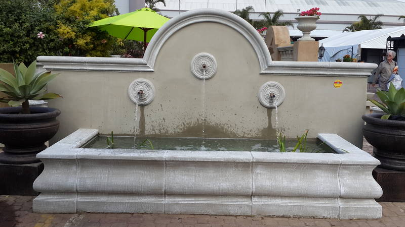 Custom made water feature to be built on site approx R35 000