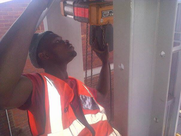 fixing a Crane fault in Edenvale