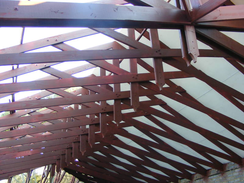 Exposed / Bolted Trusses
