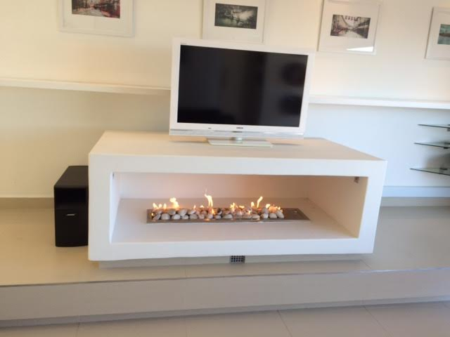 New Gas Fireplace instillation in Camps Bay