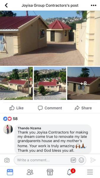 5% OFF IF U LIKE OUR FACEBOOK PAGE Durban South CBD Builders & Building Contractors _small