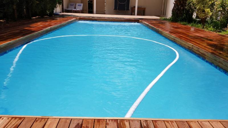 New concrete swimming pools