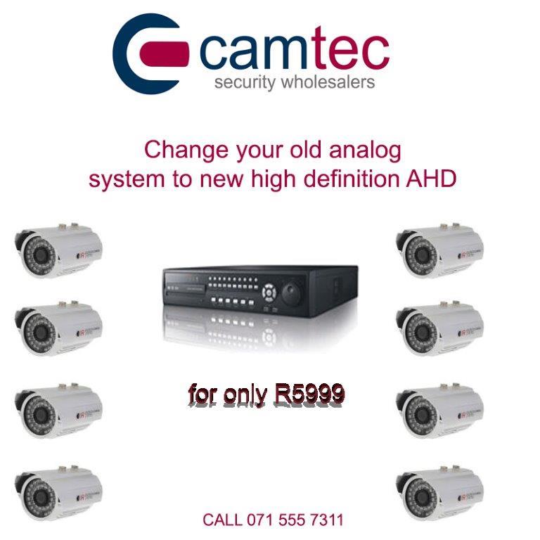 8 ch AHD CCTV Kit