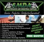 SMDA Maintenance & Industrial Supplies