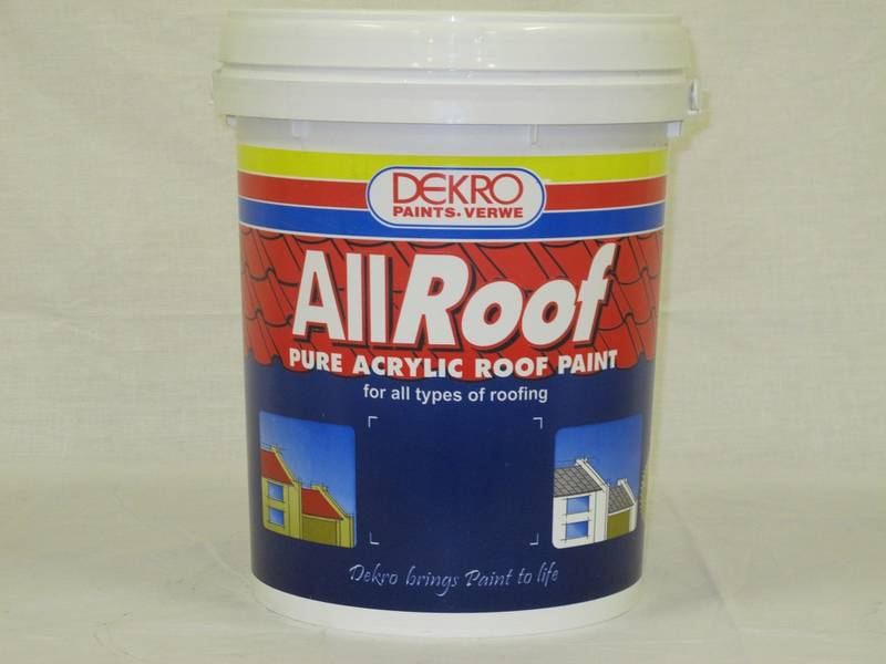 Allroof is a Co-Polymer Acrylic Roof Coating