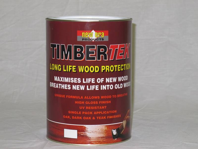 Timbertek is a Single pack siliconised permeable varnish