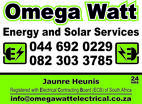 Omega Watt Energy and Solar Services