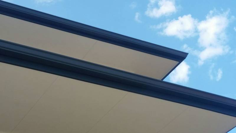 150 x 125 ogee charcoal gutters