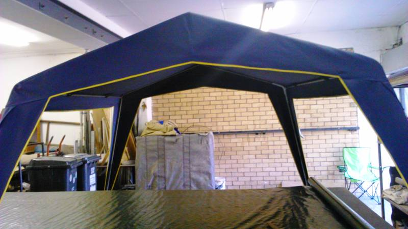 Gazebo canvas top