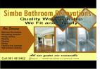 simba bathrooms renovation