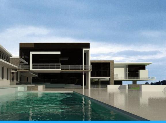Bryanston - Upmarket house design