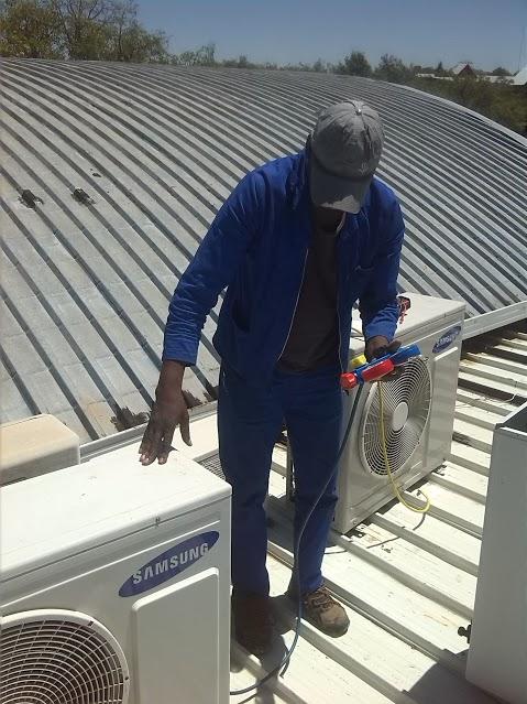 REPAIRING A SAMSUNG AIRCON
