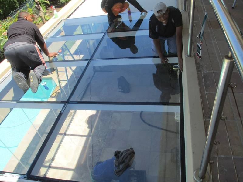 Flush Glazing Rooflight