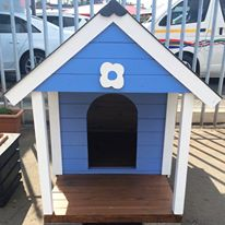 Dog Kennels with an edge- custom colours and decals for your furkids