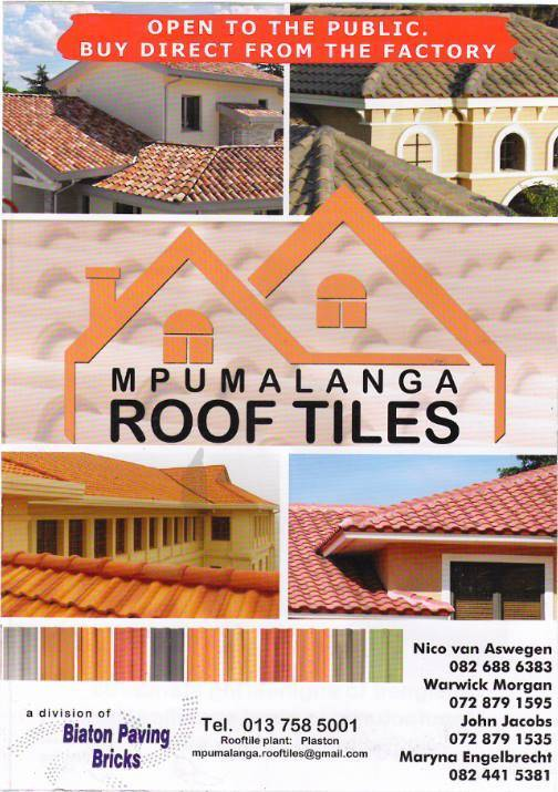 Mpumalanga Roof Tiles - Hardware & Building Supplies