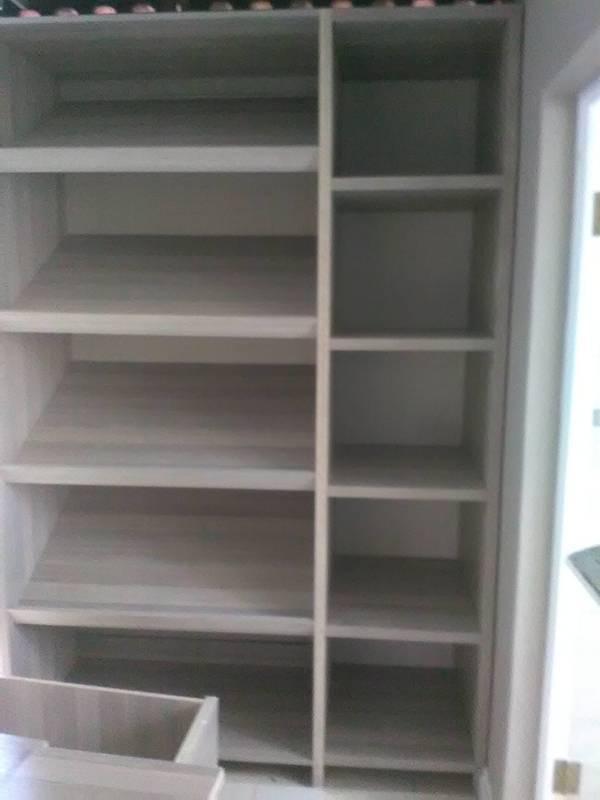 shoe rack & shelves