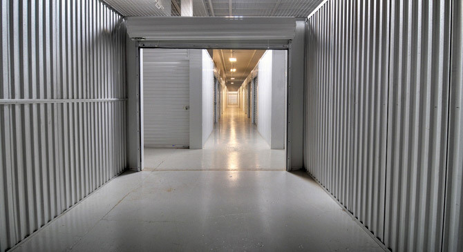 Spotless, clean , dry storage units