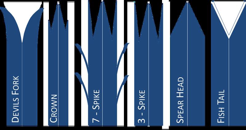 Spike designs