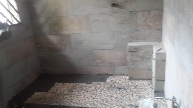 bathroom renovation tiling and plumbing
