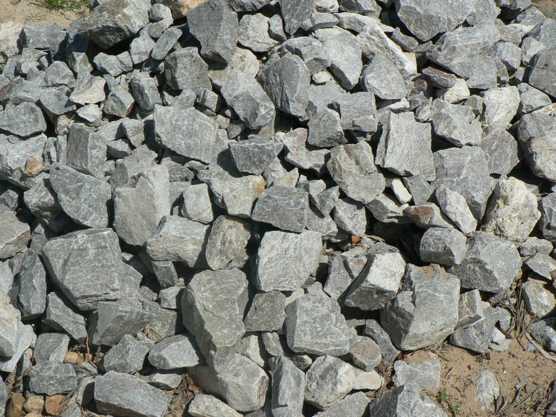 Some of the landscapping rocks we sell