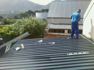 Roofing done by Ark Waterproofing Cape Town