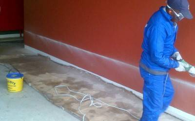 Damp Proofing done by Ark Waterproofing Cape Town