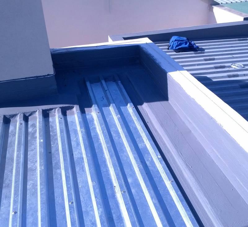 waterproofing roof!