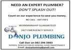 Donjo Plumbing & Maintenance