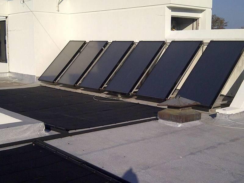 Domestic solar heating