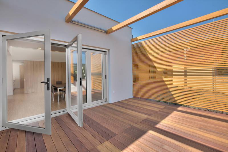 gorgeous timber decking