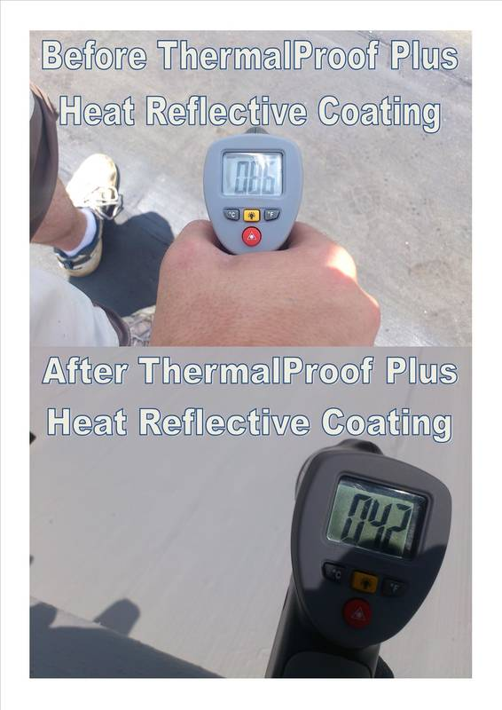 ThermalProof Heat Reflective Coating