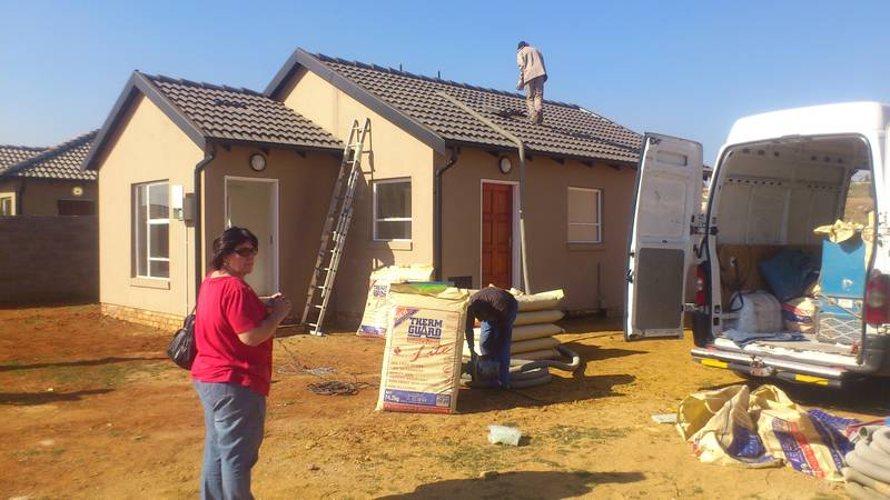 Mass Housing insulated with Thermguard