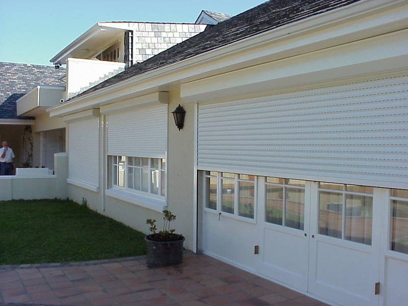 Aluminium Roller Shutters - lock up and go