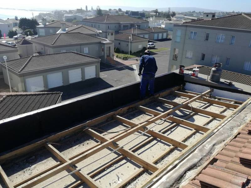 ROOF TOP AREA - ROOF REPAIRS