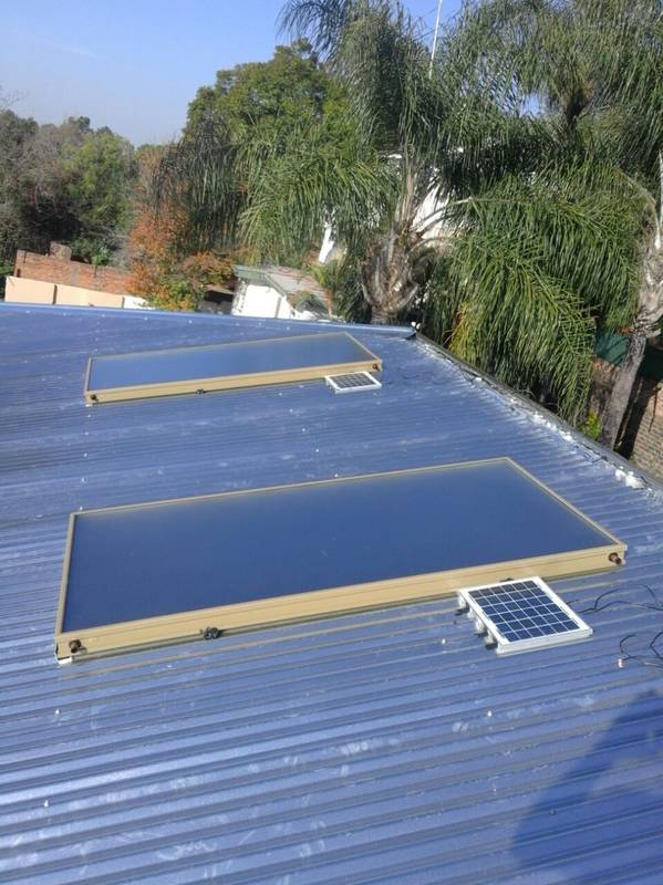 Solar Heat Collector Panels